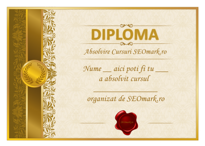 Cursuri Seo diploma