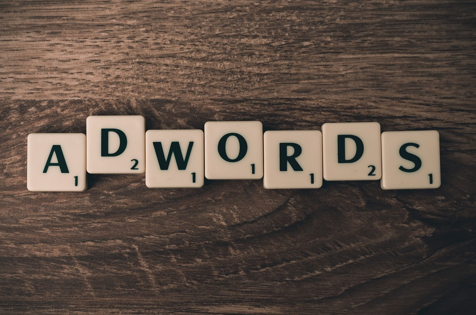 adwords-words-on-table