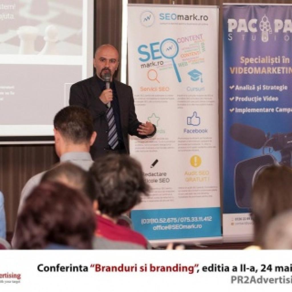Conferinta Branduri si Branding editia a II-a