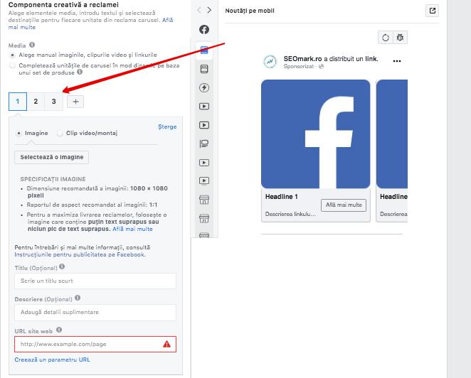 Expune-ti produsele pe Facebook - Cum sa vinzi prin reclame carusel, pas cu pas?