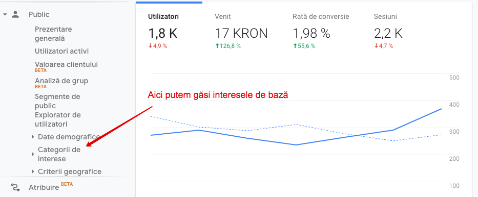 Cum sa identifici continutul potrivit pentru publicul tau tinta, cu ajutorul Google Analytics?