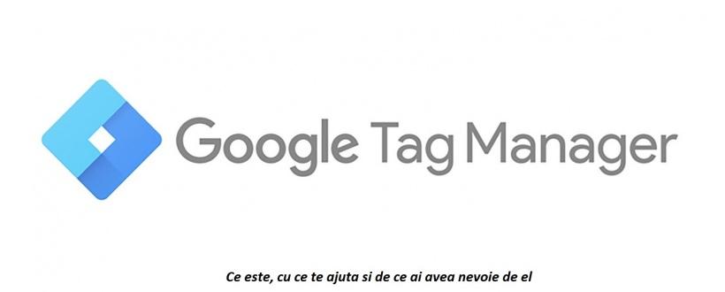 google tag manager logo - ce este si de ce ai nevoie de el